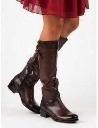 Rudi aukštos kokybės auliniai batai - XY19-10455BR