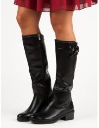 Juodi aukštos kokybės auliniai batai - XY19-10455B
