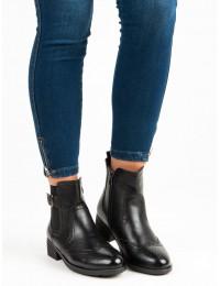 Aukštos kokybės juodi batai - DBT467/18B