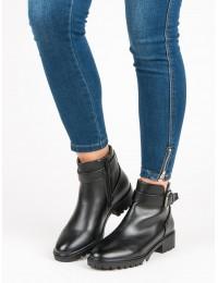 Juodi klasikinio stiliaus batai - T038-1A-B
