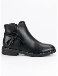 Juodi klasikinio stiliaus batai - DBT461/18B