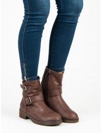Stilingi rudos spalvos batai - D669BR