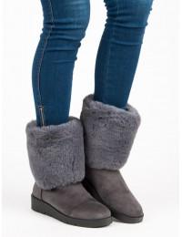 Šilti žieminiai batai su kailiu - K1838405G