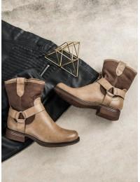 Stilingi rusvi auliniai batai