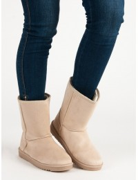Šilti ir lengvi UGG stiliaus batai - SP03BE