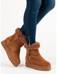 Šilti rudos spalvos batai - PP-30C