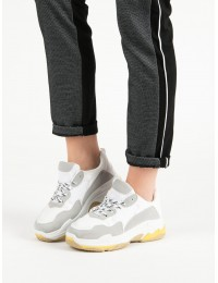 Madingi sportinio stiliaus batai su platforma - MM-1W