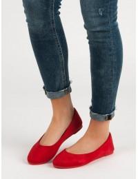 Klasikinio stiliaus raudonos balerinos VICES - JB016-19R