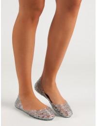 Išskirtinės stilingos guminės balerinos - SY19-8934W