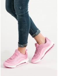 Rožinės spalvos sportinio stiliaus batai - MA07L.P