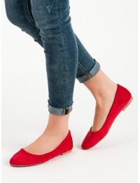 Klasikinės raudonos spalvos balerinos - 9026R