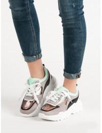 Pilki stilingi batai su platforma - YT89-JR85G