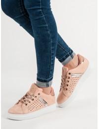 Madingi rožinės spalvos batai - B32P