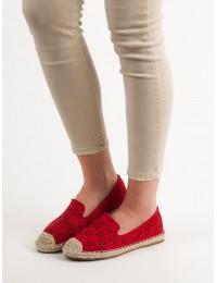 Ažūriniai raudonos spalvos bateliai - 9023R