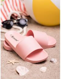 rožinės spalvos šlepetės - CK78P