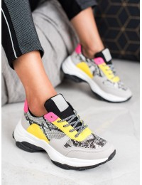 Madingi aukštos kokybės SNEAKERS modelio batai - BL169SNA