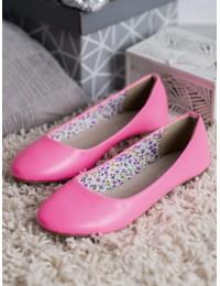 Rožinės spalvos balerinos - 2301P