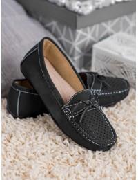 Klasikinio stiliaus juodi mokasinai - 8289B