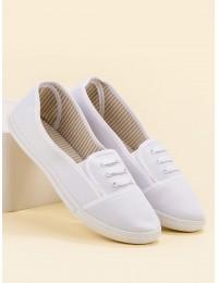 Balti stilingi laisvalaikio bateliai - BA10W