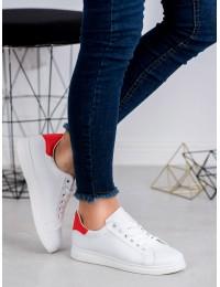 Baltos spalvos laisvalaikio bateliai
