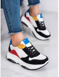 Aukštos kokybės Madingi SNEAKERS modelio batai - 7815B/W