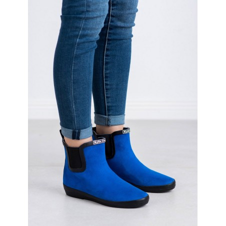 Zomšiniai guminiai batai