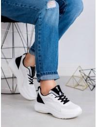 Madingi sportinio stiliaus batai - BOK-1183W/B