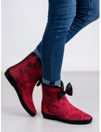 Išskirtiniai stilingi guminiai batai - K1890106RO