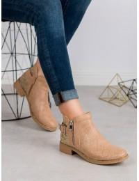 Smėlio spalvos batai SNAKE PRINT