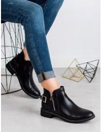 Juodos spalvos batai SNAKE PRINT