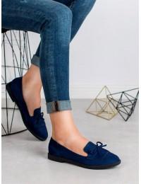 Mėlyni elegantiški mokasinai - 1631-125D.BL