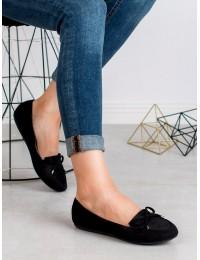 Klasikinio stiliaus juodi bateliai