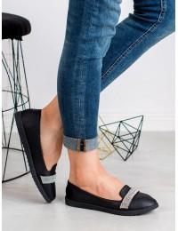 Elegantiški juodos spalvos bateliai