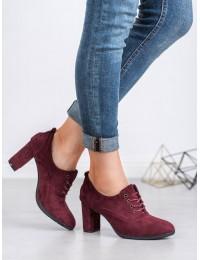 Elegantiški bordo spalvos batai