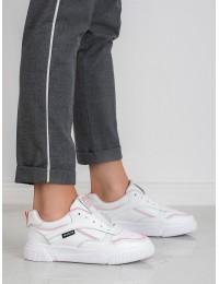 Balti sportinio stiliaus batai - BRD9711W/P
