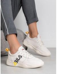 Balti sportinio stiliaus batai - BRD9712BE