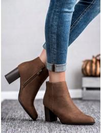 Aukštos kokybės zomšiniai batai - DBT1022/19BR