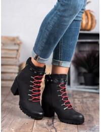 Aukštos kokybės batai patogiu plačiu kulnu - HX20-16101B