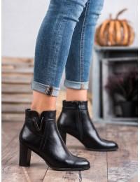 Aukštos kokybės elegantiški batai patogiu kulnu - XY20-10491B