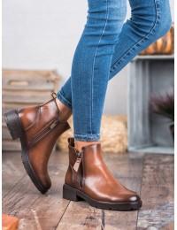 Rudi masyvaus stiliaus madingi batai - XY20-10479C