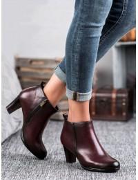 Klasikinio stiliaus bordo spalvos batai - XY20-10495BUR