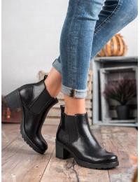 Klasikinio stiliaus juodos spalvos batai - XY20-10485B