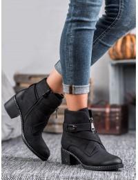 Stilingi juodos spalvos batai - HX20-16121B