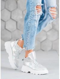 Išskirtiniai stilingi baltos spalvos batai - IC02S