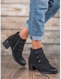 Stilingi juodi aukštos kokybės batai - XY20-10503B