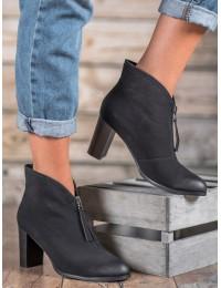 Stilingi juodi aukštos kokybės batai - XY20-10502B