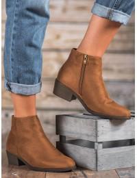 CAMEL spalvos zomšiniai elegantiški batai - DBT1048/19BR