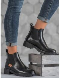 Juodos spalvos aukštos kokybės batai - XY20-10477B