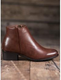 Klasikinio stiliaus rudos spalvos batai - DBT1047/19BR