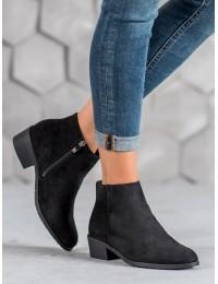 Zomšiniai klasikinio stiliaus batai - DBT1048/19B
